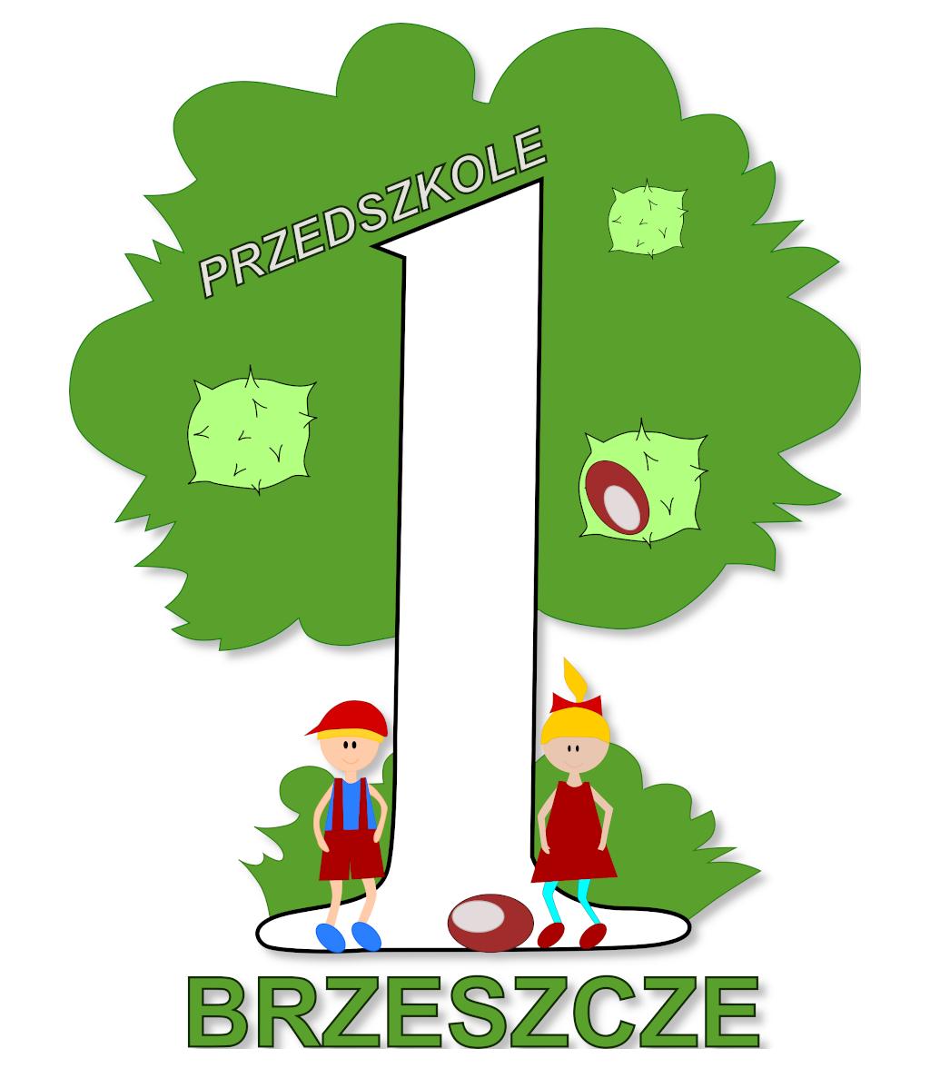 Logo Przedszkola nr 1 w Brzeszczach