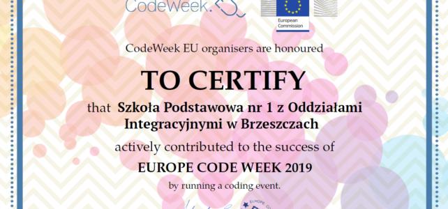 Europejski Tydzień Kodowania 2019