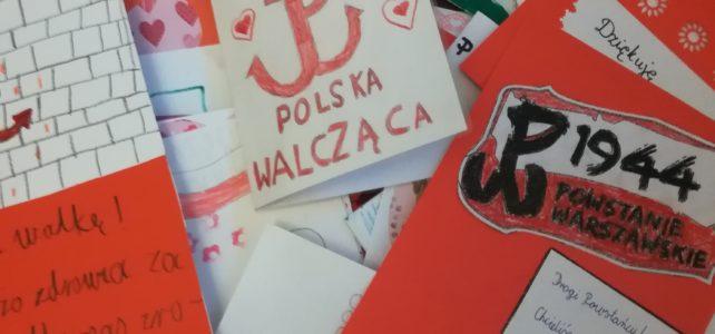 BohaterOn w Twojej Szkole – zrobiliśmy ponad 100 kartek dla Powstańców!