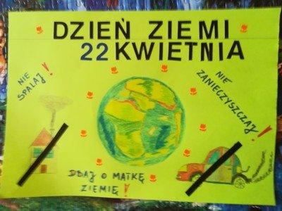 Projekty z okazji Dnia Ziemi