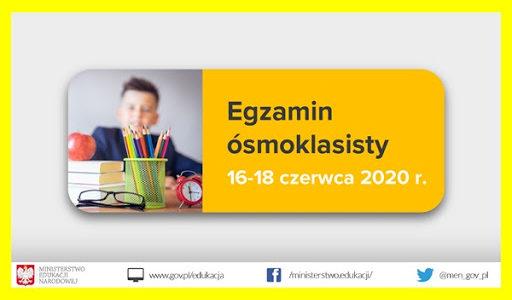 Procedury dotyczące Egzaminu Ósmoklasisty dla Uczniów i Rodziców