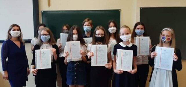 Zakończenie roku szkolnego 2019/2020 i pożegnanie klas ósmych