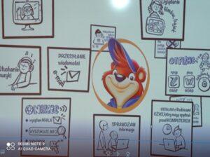 Prace uczniów kl. 1b - Akademia Bezpiecznego Puchatka
